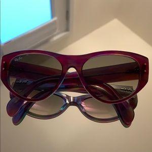 Unique Ray-Ban Cat Eye Vagabond Sunglasses RB 4152